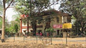 Post Office at Santiniketan, next to Subarnarekha book shop