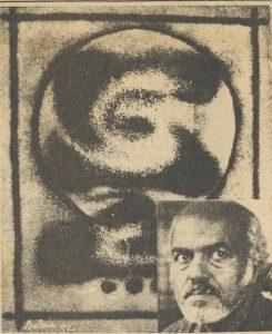 Bal Nambiar's painting at Max Muller Bhavan