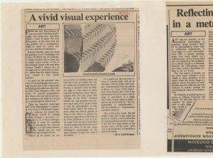A vivid visual experience