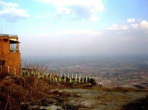 View of Bengaluru from Nandi Hill top